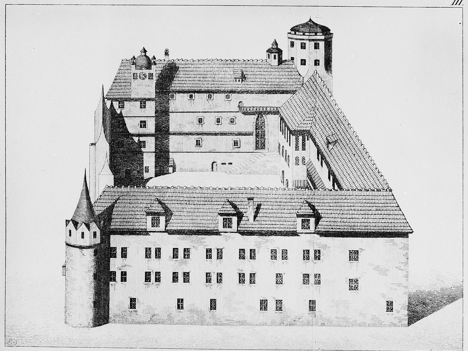 Schlossrekonstruktion 1530