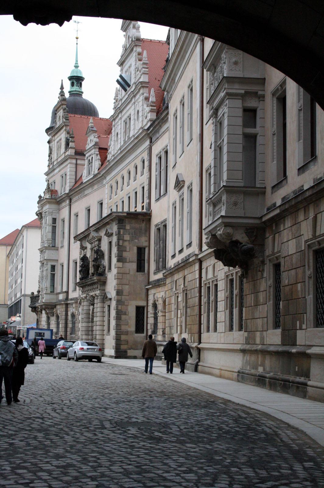 Fassade Ostflügel