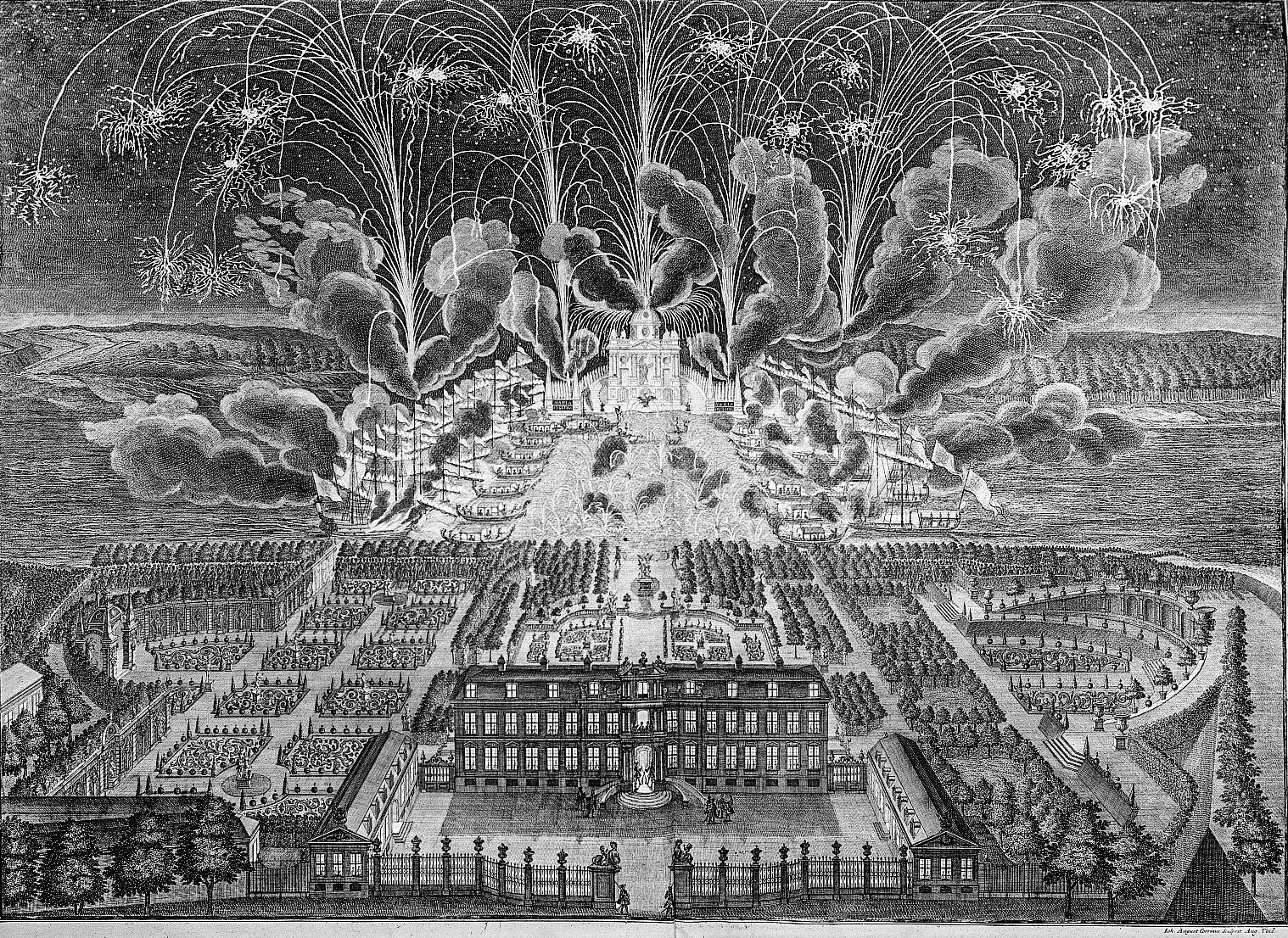 Feuerwerk 1719