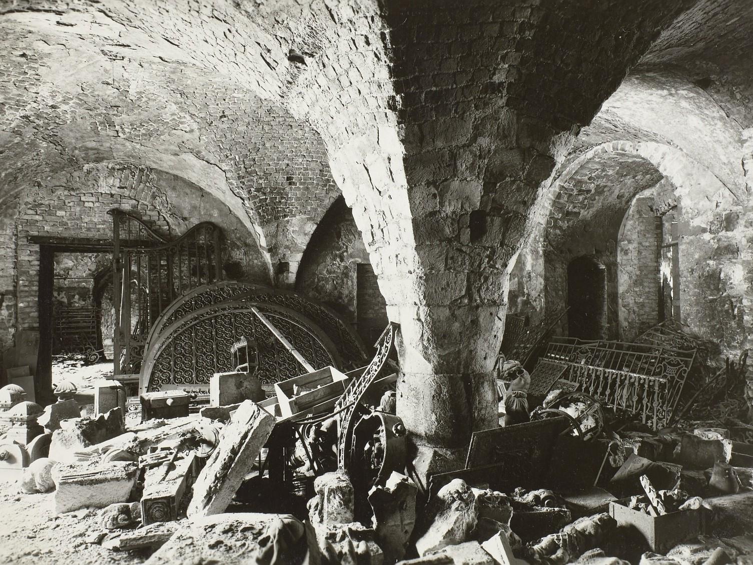 Spätgotische Gewölbereste