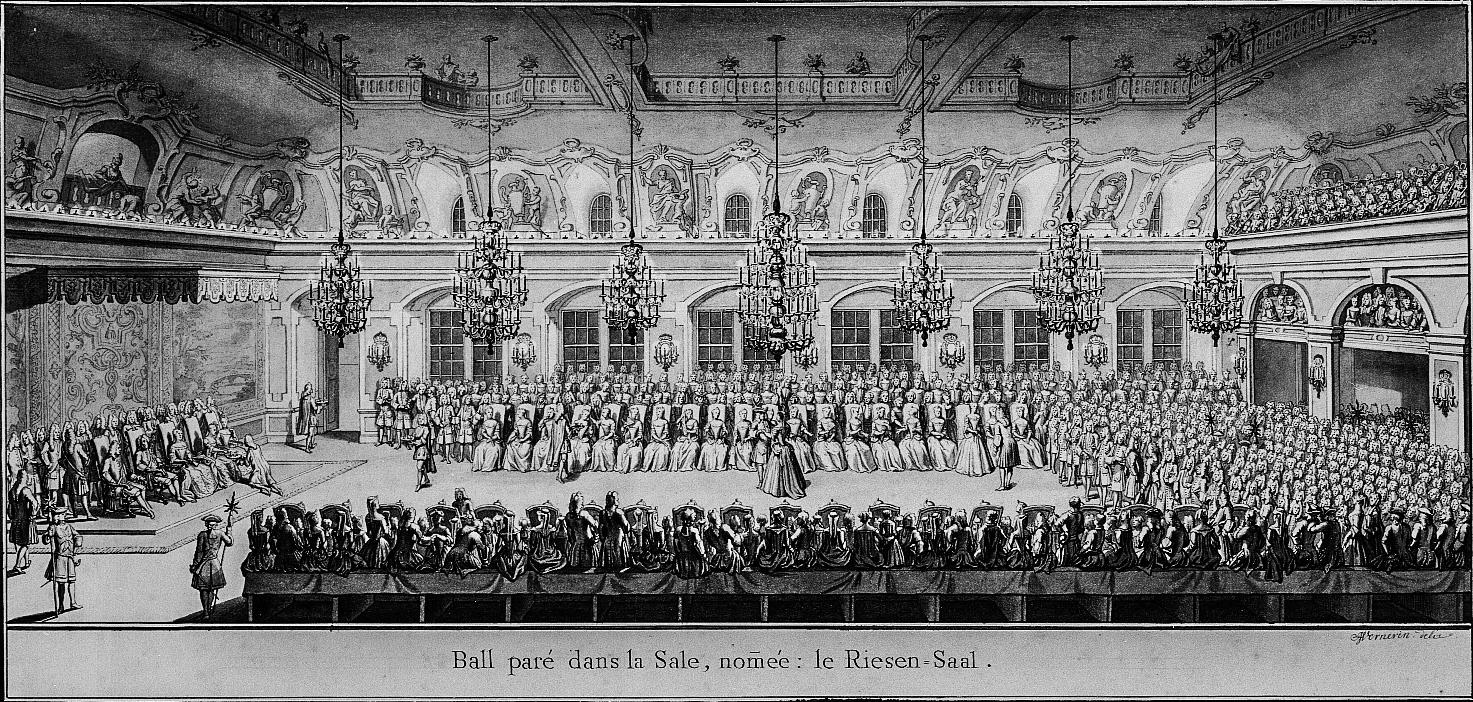 Zeremonienball im Riesensaal