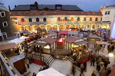 Mittelalter Weihnachtsmarkt im Stallhof