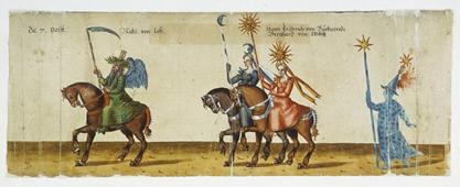 Ringrennen im Stallhof 1607