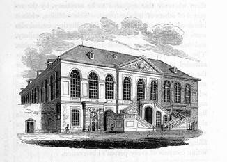Stallgebäude 1828