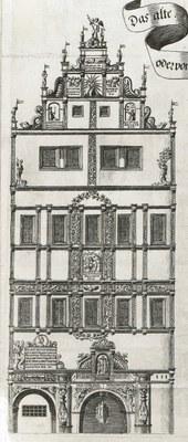 Ausschnitt aus dem Kupferstich von 1680
