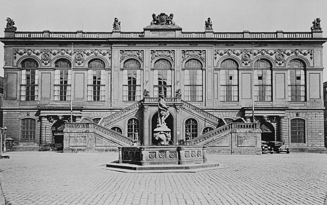 Johanneum im Jahr 1930