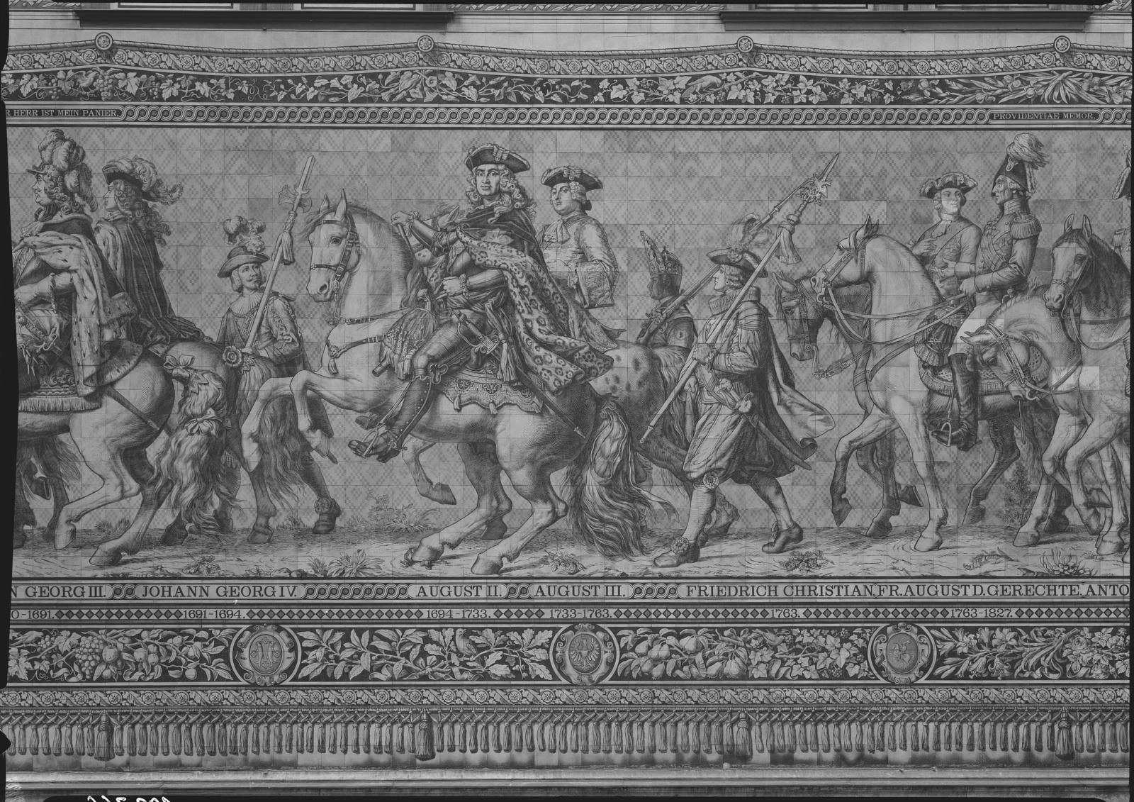 Detail des Fürstenzugs