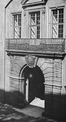 Das Starcke Portal im Kleinen Schlosshof
